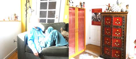 Older adult at home