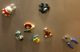Character refrigerator magnets